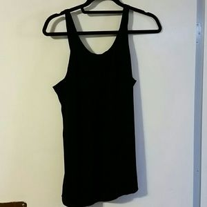 Woman's black Zara Basic tank sz S
